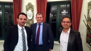Herr Erge, Herr Derkow (beide Euler Hermes), Herr Weise (Allianz)